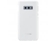 Husa Samsung Galaxy S10e G970, LED Cover, Alba, Blister EF-KG970CWEGWW