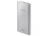Baterie Externa Powerbank Samsung Micro USB 10000mA Fast Charging, 2 x USB, Argintie, Blister EB-P1100BSEGWW