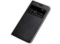 Husa Piele OEM Smart Look pentru Huawei Mate 20, Neagra, Bulk