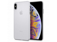 Husa Plastic Spigen Air Skin pentru Apple iPhone XS Max, Transparenta, Blister 065CS24829
