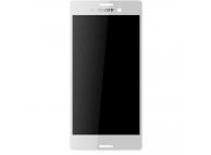 Display - Touchscreen Alb Sony Xperia M4 Aqua / Sony Xperia M4 Aqua Dual