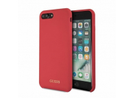 Husa TPU Guess Logo pentru Apple iPhone 7 Plus / Apple iPhone 8 Plus, Rosie, Blister GUHCI8LLSGLRE
