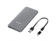 Baterie Externa Powerbank Samsung 5000 mA, 1 x USB, Gri, Blister EB-P3020CSEGWW