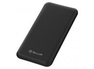 Baterie Externa Powerbank Tellur 10000 mA, 2 x USB, Neagra, Blister TLL158151