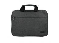 Geanta textil laptop 15.5 inci  MODERN, Gri - Neagra