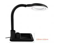 Lampa LED cu lupa si suport organizare