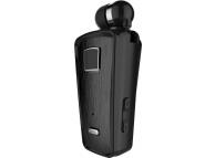Handsfree Casca Bluetooth Soultech Color Clip PLATINUM BH010S, Negru, Blister