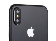 Rama protectie camera spate Totu Design Pentru Apple iPhone XS Max, Neagra, Blister