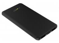 Baterie Externa Powerbank Soultech Comfort Ultra Slim BT030S 5000 mA, 2 x USB, Neagra, Blister