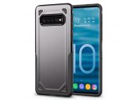 Husa Plastic OEM Rugged Armor pentru Samsung Galaxy S10+ G975, Gri, Bulk