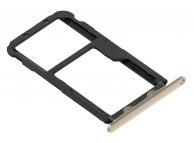 Suport Card - Suport SIM Auriu Huawei Mate 20 Lite