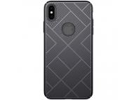 Husa Plastic Nillkin Air Slim pentru Apple iPhone XS Max, Neagra, Blister