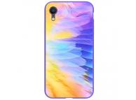 Husa Plastic Nillkin Ombre cu spate din sticla pentru Apple iPhone XR, Mov, Blister