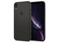 Husa Plastic Spigen Air Skin pentru Apple iPhone XR, Neagra, Blister 064CS24870