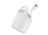 Handsfree Casti Bluetooth Usams LU Dual Stereo, Alb, Blister