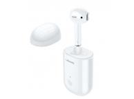 Handsfree Casca Bluetooth Usams LB Mono Stereo, Alb, Blister