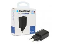 Incarcator Retea USB Blaupunkt, 1 X USB, 1.2A, Negru, Blister BP-WCAB-12A