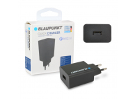 Incarcator Retea USB Blaupunkt Qualcomm Quick Charge 3,  1 X USB, Negru, Blister BP-QCB-20A