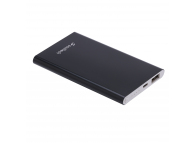 Baterie Externa Powerbank Soultech Color Slim 5000 mA BT031S , 1 x USB, Neagra, Blister