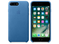 Husa piele Apple iPhone 7 Plus / Apple iPhone 8 Plus, Bleu, Blister MMYH2ZM/A