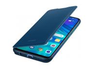 Husa Piele Huawei Flip Huawei P Smart (2019), Bleumarin, Blister 51992895
