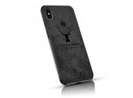 Husa TPU OEM Deer pentru Apple iPhone XR, Neagra, Blister