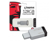 Memorie Externa Kingston Data Traveler 50 U3, USB 3.0 - USB 3.1, 128Gb, Argintie, Blister DT50/128GB