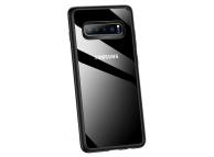 Husa Plastic Usams Mant pentru Samsung Galaxy S10+ G975, Neagra - Transparenta, Blister