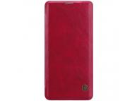 Husa Piele Nillkin Qin Book pentru Samsung Galaxy S10+ G975, Rosie, Blister