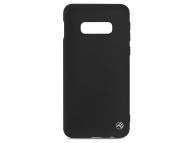 Husa TPU Tellur Matt pentru Samsung Galaxy S10e G970, Neagra, Blister TLL121865