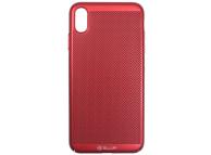 Husa Plastic Tellur Lightweight pentru Apple iPhone X / Apple iPhone XS, Rosie, Blister TLL121215