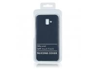 Husa TPU OEM Pure Silicone pentru Samsung Galaxy J6 J600, Bleumarin, Blister