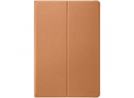 Husa Tableta Piele Huawei Flip Cover Huawei MediaPad M5 lite, Maro, Blister 51992592