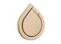Suport inel universal pentru telefon Water-drop, Auriu Blister