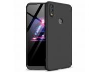 Husa Plastic OEM Full Cover pentru Huawei Honor 8X, Neagra, Bulk