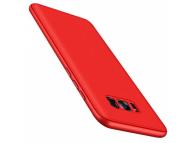 Husa Plastic OEM Full Cover pentru Samsung Galaxy A7 (2018) A750, Rosie, Bulk