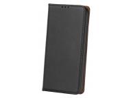 Husa Piele OEM Smart Pro pentru Samsung J4 Plus (2018) J415, Neagra, Bulk