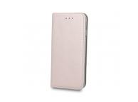 Husa Piele OEM Smart Magnetic pentru Samsung Galaxy S10+ G975, Roz Aurie, Bulk