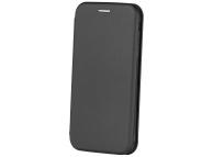 Husa Piele OEM Smart Viva pentru Samsung Galaxy J6 J600, Neagra, Bulk