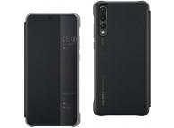 Husa Huawei P30 Pro, View Cover, Neagra, Blister 51992882