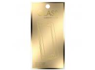 Folie Protectie Ecran OEM pentru Samsung J6 Plus (2018) J610, Sticla securizata, Gold Edition, Blister