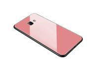 Husa TPU OEM cu spate din sticla pentru Samsung Galaxy S9 G960, Roz, Bulk