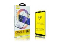 Folie Protectie Ecran OEM pentru Samsung Galaxy A7 (2018) A750, Sticla securizata, Full Face, Full Glue, 6D, Neagra, Blister