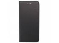 Husa Piele OEM Smart Magnet pentru Nokia 3.1 Plus, Neagra, Bulk