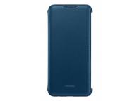 Husa TPU Huawei Flip Cover Huawei Y7 Prime (2019), Albastra, Blister 51992903