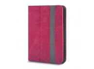 Husa Piele GreenGo Fantasia pentru Tableta 7 inci - 8 inci, dimensiuni interioare 210 x 140 mm, Roz, Bulk