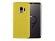 Husa Plastic OEM Slim pentru Samsung Galaxy S9 G960, Galbena, Bulk