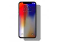 Folie Protectie Ecran Enkay pentru Apple iPhone X / Apple iPhone XS, Sticla securizata, Privacy, Blister