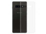 Folie Protectie Spate OEM pentru Samsung Galaxy S10+ G975, Plastic, Full Face, Blister