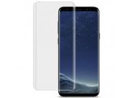 Folie Protectie Ecran Imak Pentru Samsung Galaxy S9 G960, Sticla securizata, Full Face, Edge Glue, 3D, Blister